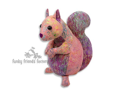 Squirrel Toy Pattern