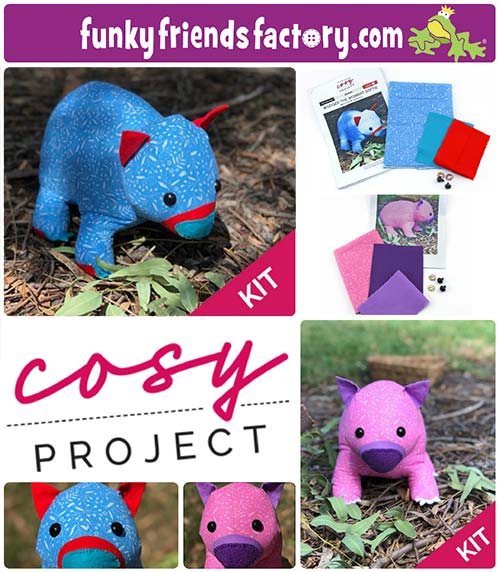 Cosy Project sewing kits
