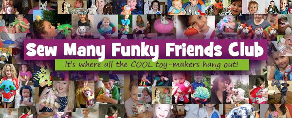 SEW MANY FUNKY FRIENDS