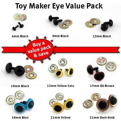 Toy-maker Craft Eyes Pack
