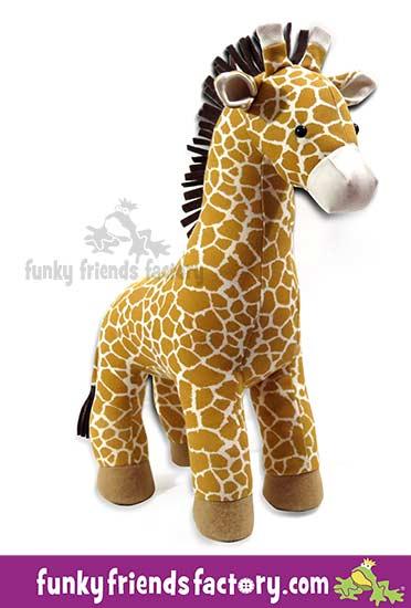 Giraffe pattern - Harmony Art giraffe print fabric