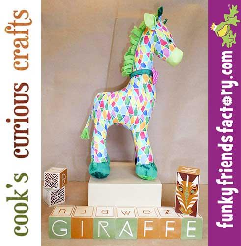 Giraffe toy pattern