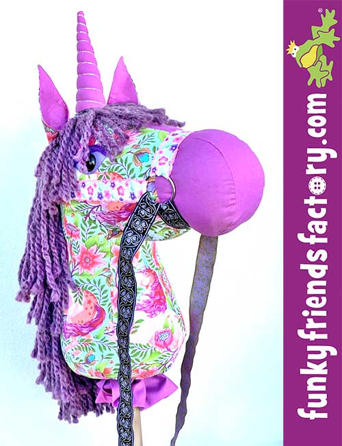 Tula Pink Pinkerville Hobby Horse sewn by SHazz McHArry