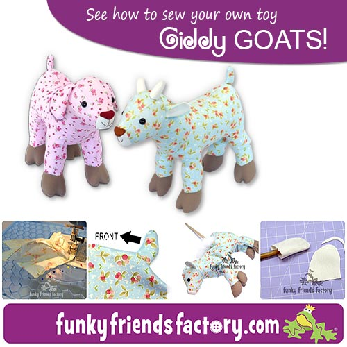 Giddy Goat pattern tutorial