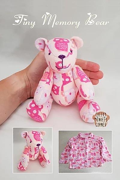 Mini Keepsake Bear pattern