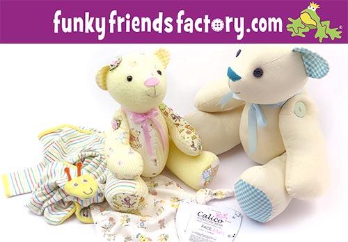 FREE Mini keepsake bear pattern