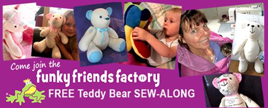 FREE TEDDY SEW-ALONG