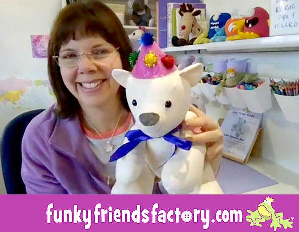 Pauline McArthur- Funky Friends Factory sew-along call 2