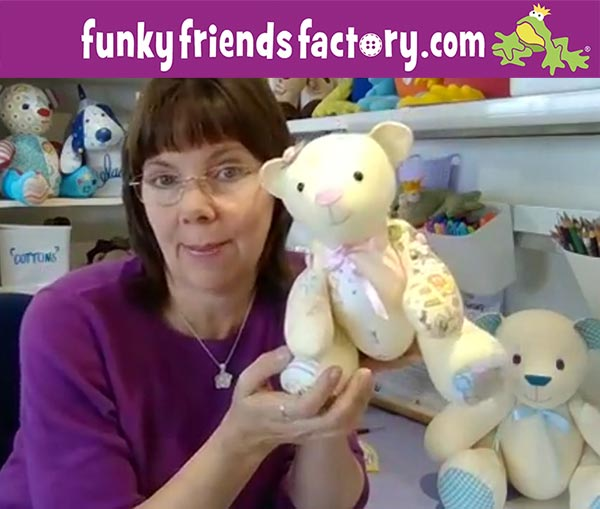 sew lovely keepsakes with Funky Friends Factory
