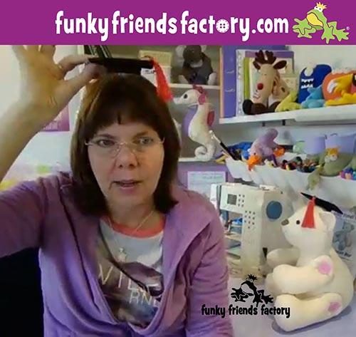 Pauline McArthur - Funky Friends Factory - SEW-ALONG