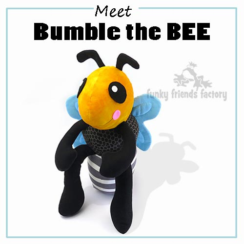 My Bumble the Bee sewing pattern is ready for release to the general public!