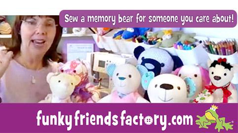 A FREE memory bear pattern 2020