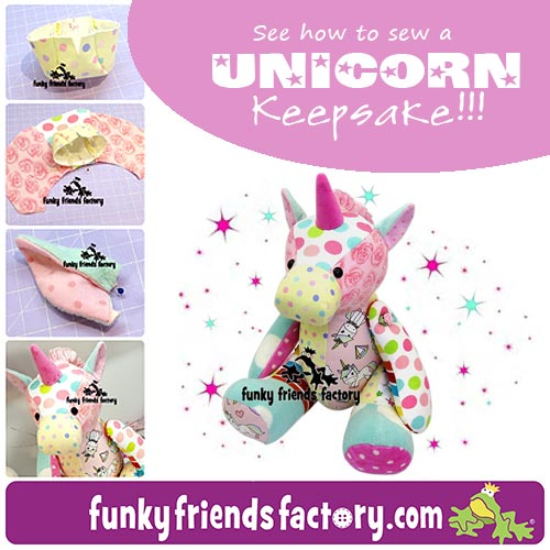 Keepsake Unicorn Tutorial