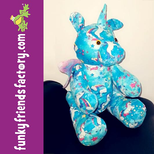 FREE Unicorn Keepsake Pattern sewn by Cathy Horrocks