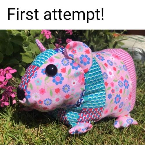 Guinea Pig sewing pattern sewn by KarenSexton