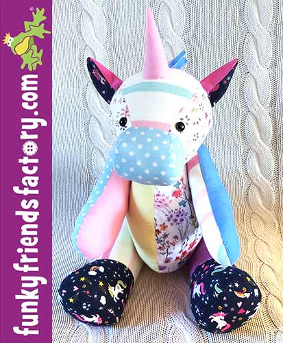 Unicorn Keepsake pattern sewn by Lara H