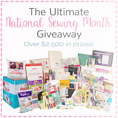 National Sewing Month Prize