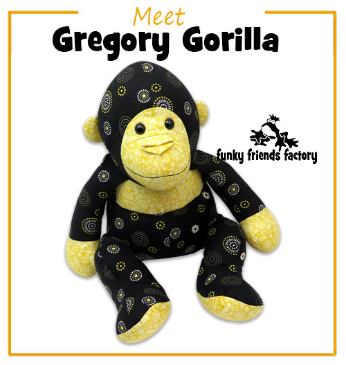 NEW Gorilla toy pattern!