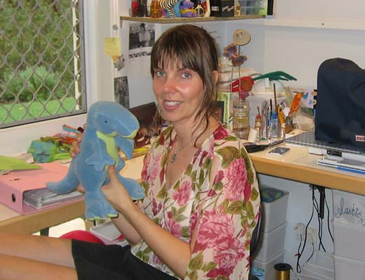 Pauline McArthur - soft toy designer