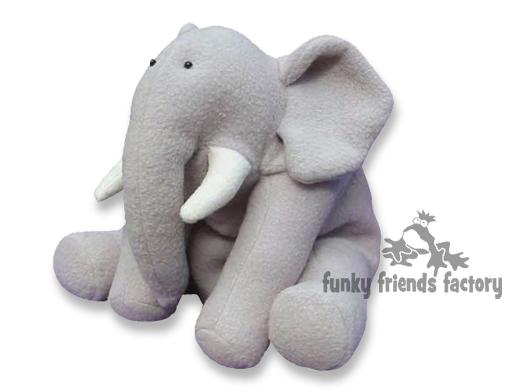 Ellie Elephant Toy Sewing Pattern
