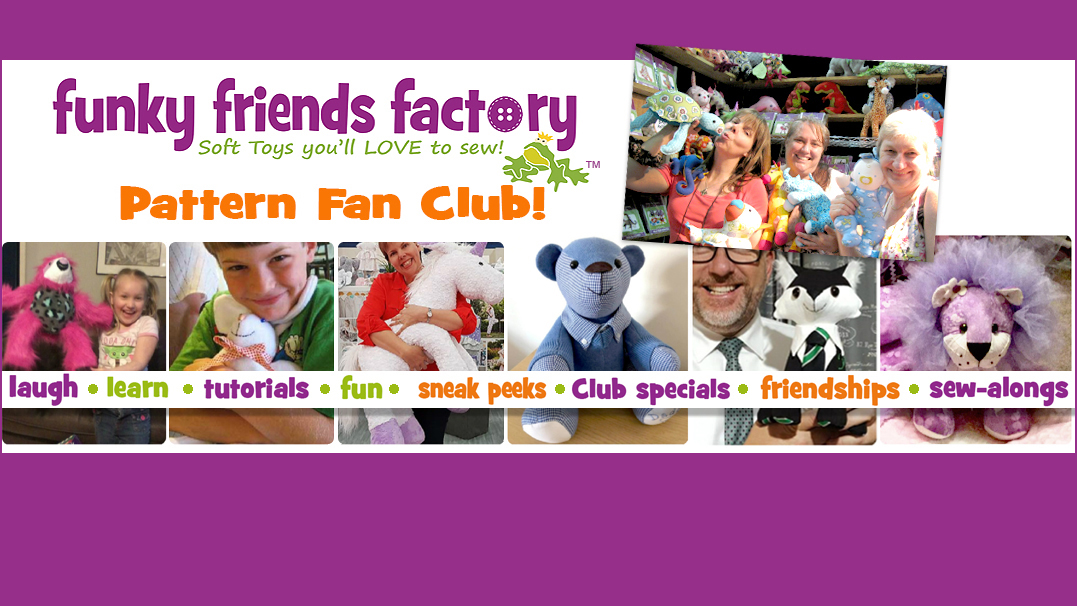 Facebook Pattern Fan Club