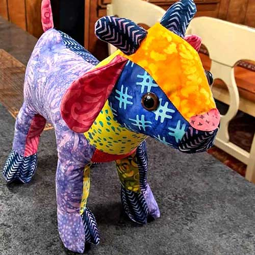 December MAKER OF THE MONTH – wins a FREE Funky Friends Factory Pattern!