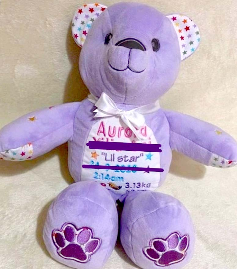 Keep me Keepsake Bear sewn by WendyB