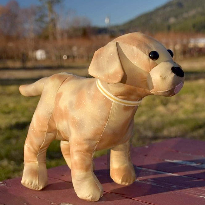 Lucky Labrador Pattern sewn by JulieGroot