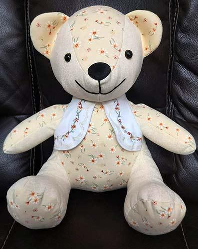 Melody Bear sewn by MichelleGermain