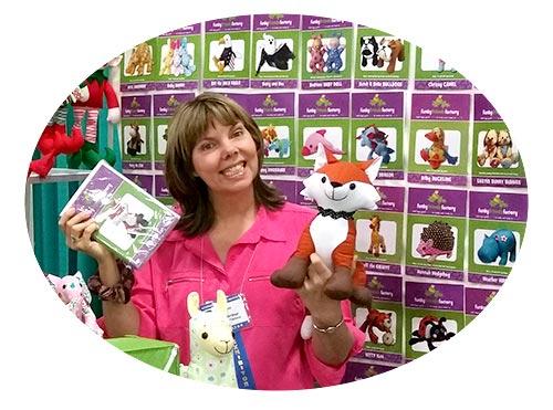 Pauline McArthur Funky Friends Factory Quilt Market