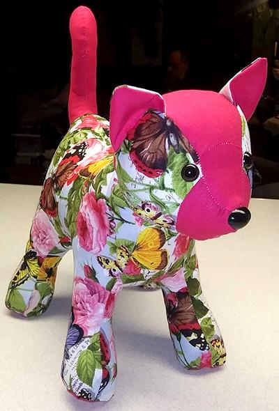 Patch Cat pattern sewn by StacyBernstein