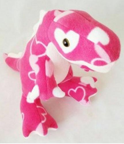 T Rex pattern sewn by Tinawinterborne