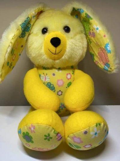 Easter bunny buddy pattern sewn by Paula b