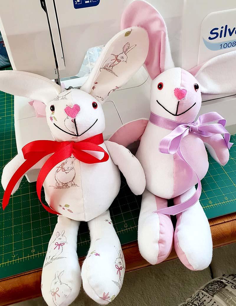 Baby Bunny Pattern sewn by Nina Taylor