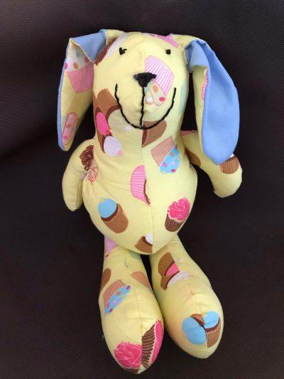 Baby bunny pattern sewn by Ilene D.