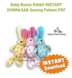 Baby bunny pattern