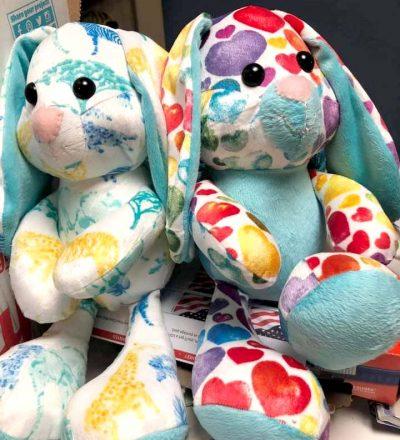 Easter bunny buddy pattern sewn by Kathy V.