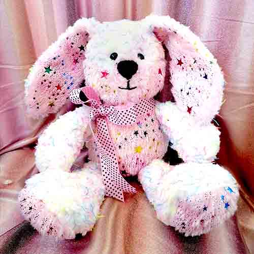 Easter Bunny pattern sewn by Judie Flower