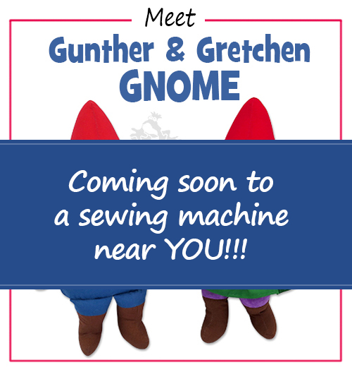 SNEAK PEEK Gunther & Gretchen GNOME Pattern