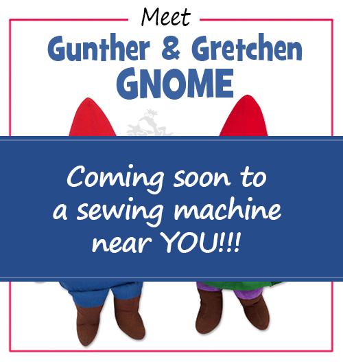 SNEAK PEEK Gunther & Gretchen GNOME Pattern