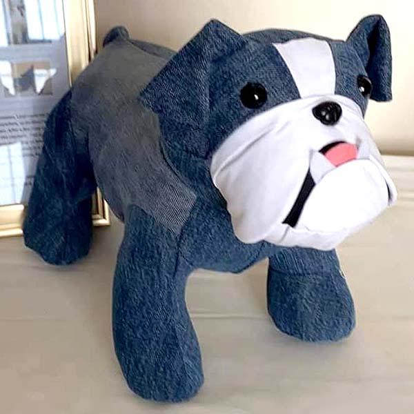 Bulldog denim 1 sewn by Jess Dines