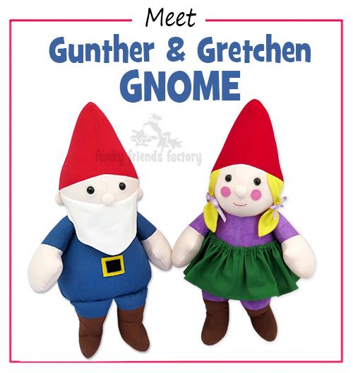 Meet Gunther & Gretchen GNOME Pattern