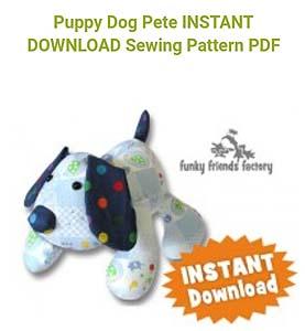 Puppy Dog Sewing Pattern