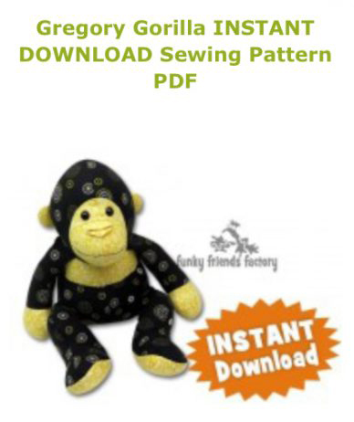 Gorilla Sewing Pattern