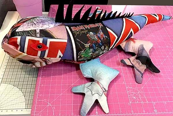 Iguana Pattern sewn by MichelleJones