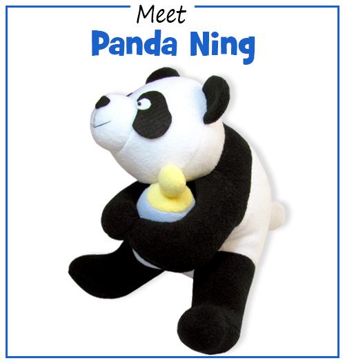 Panda pattern is baaaaaack!