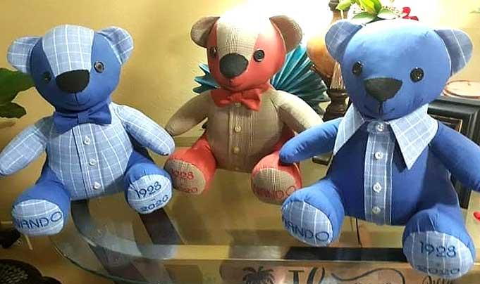 Melody Bear Pattern sewn by JulieSilguero