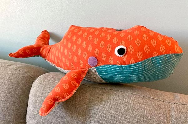 William Whale Pattern sewn by Monique Methot