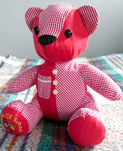 Melody Memory Bear Pattern sewn by AmeeFreeman