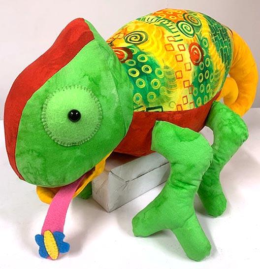 Chameleon Pattern sewn by Christine Storrs